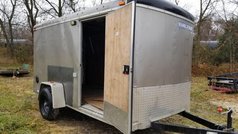 2010 Sure-Trac 6x12 Pro Series Enclosed Cargo Trailer 3k