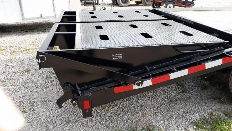 2019 Sure-Trac 8.5x20+5 Gooseneck Deckover Equipment Trailer w/Full Width Ramps 14k