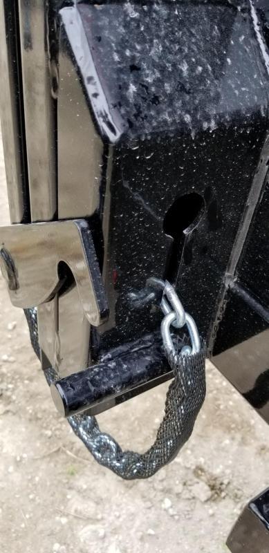 2020 Sure-Trac 82x14 Scissor Ram Lift Dump Trailer 14k