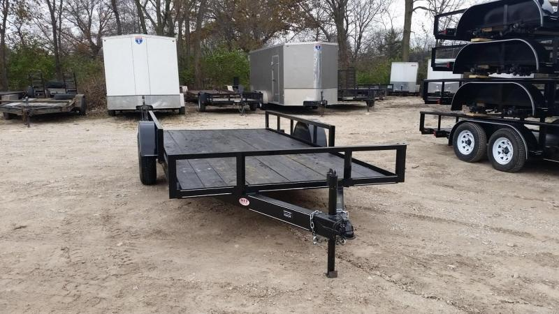 2019 M.E.B 6.4x14 ATV/Utility Trailer w/5' Side Load Ramps 3k