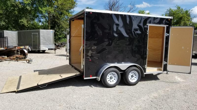 FOR RENT ONLY #5 7x12 TANDEM Interstate Cargo Trailer