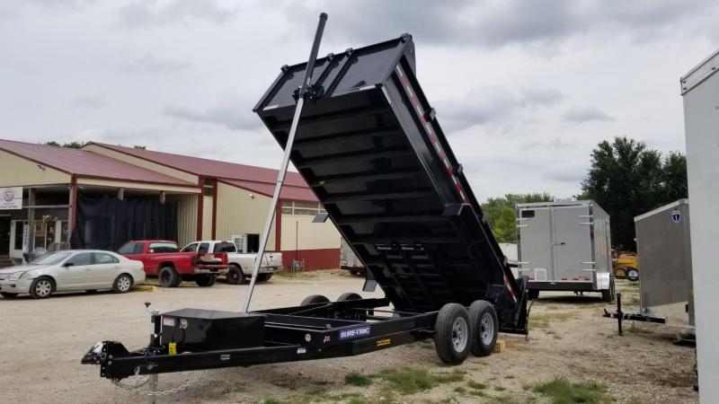 2020 Sure-Trac 82x16 Telescopic Ram Dump Trailer 14k