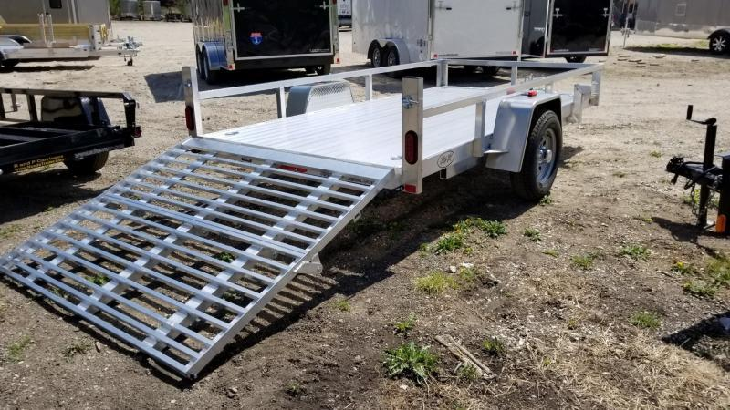 "2020 R and R 7x12 UTA Aluminum Utility w/12"" Sides 3k"