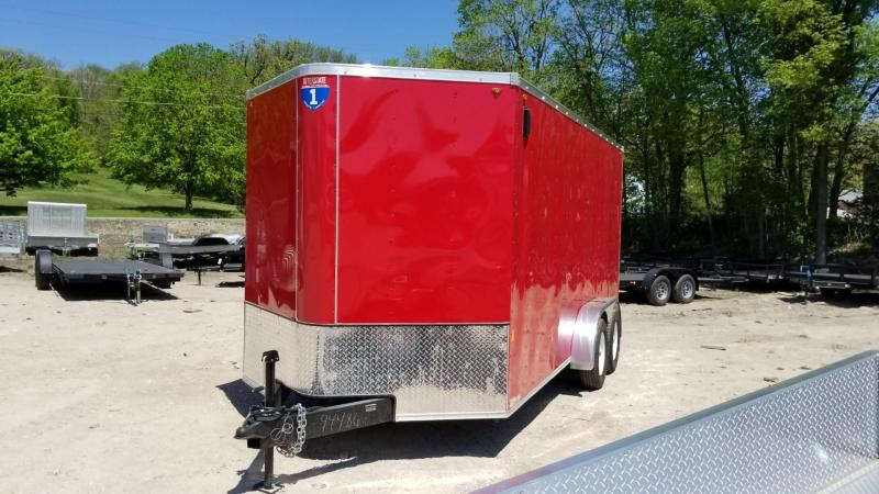 FOR RENT ONLY #21 7x16 Interstate Cargo Trailer