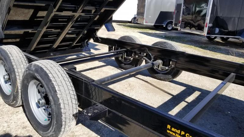 2020 Sure-Trac 82x16 Telescopic Ram Dump Trailer 14k