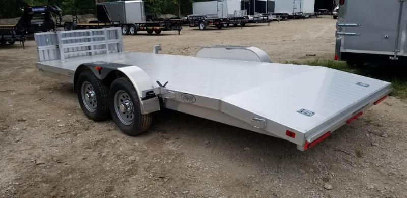 2020 R and R Trailers 7x18 All Aluminum Open Deck Car Hauler 7k