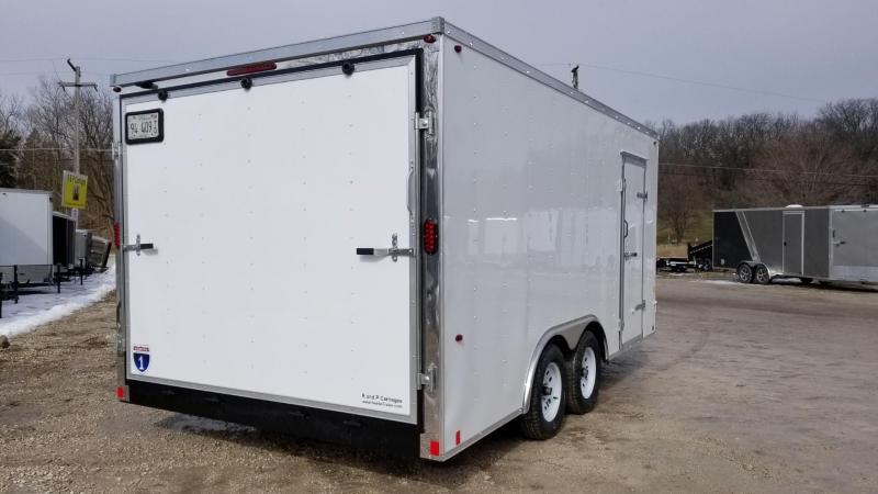 ON ORDER 2020 Interstate 8.5x16 SFC Enclosed Cargo Trailer 7k