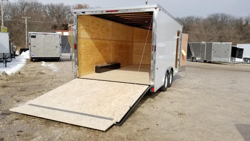 2020 Interstate 8.5x16 SFC Enclosed Cargo Trailer 7k