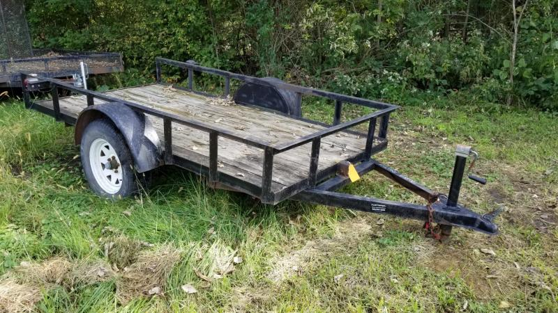 2000 R & R Manufacturing 5x10 Tilt Deck Utility Trailer 2k