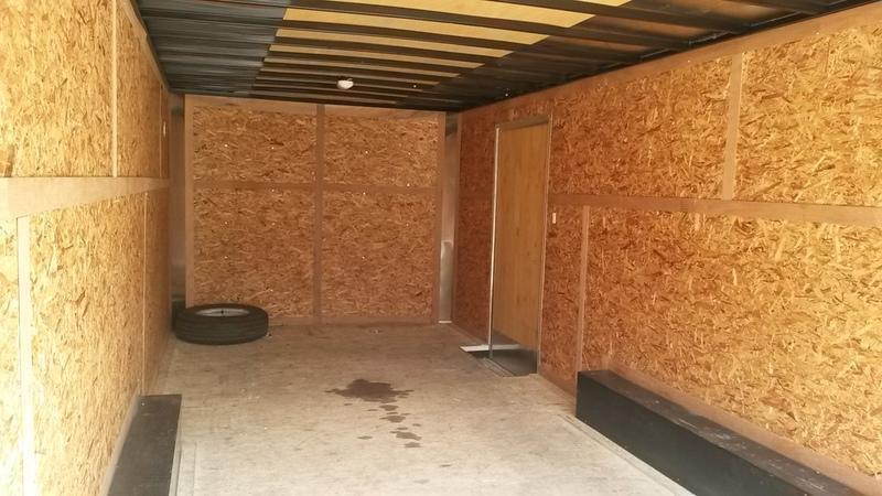 FOR RENT ONLY #19 8.5x20 Pace Enclosed Car Hauler Trailer