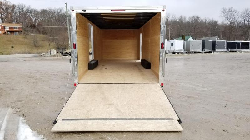 2020 Interstate 8.5x24 IF Steel Enclosed Car Hauler w/Escape Door 10k