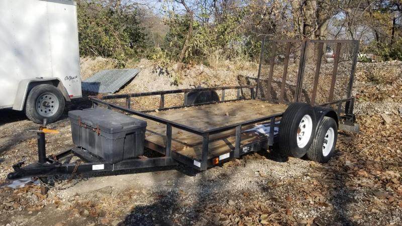 2006 US Cargo 7x12 Utility Trailer w/Split Gate 3k