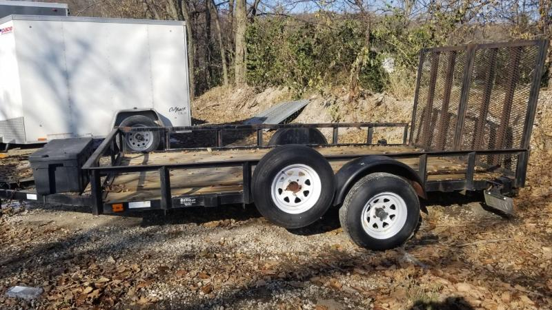 2006 US Cargo 7x12 Utility Trailer w/Split Gate 3k