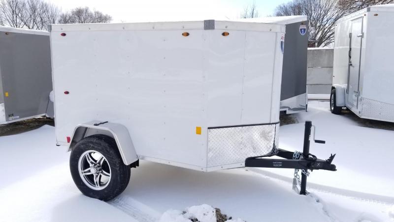 2020 Interstate 4x6 SFC Enclosed Cargo Trailer 3k