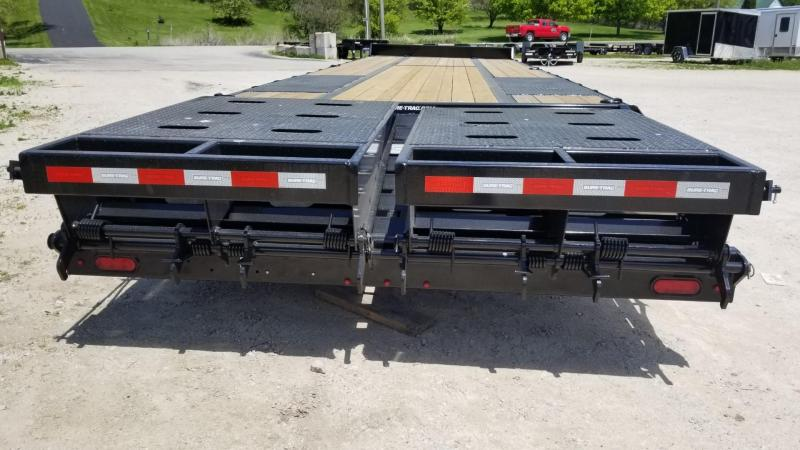 2020 Sure-Trac 8.5x25+5 Heavy Duty Equipment Trailer w/Full Width Ramps 22.5k