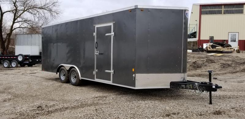 FOR RENT ONLY #9 8.5x20 Interstate Enclosed Car Hauler