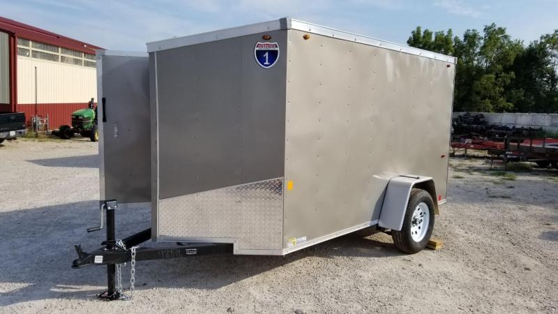 2020 Interstate 5x10 SFC Enclosed Cargo Trailer 3k