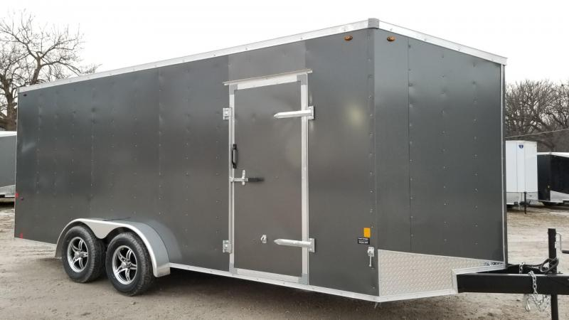 2020 Interstate 7x18 SFC Enclosed Cargo Trailer 7k