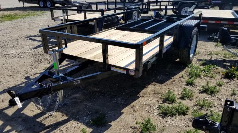 2019 Sure-Trac 5x10 Tube Top Utility w/Gate 3k