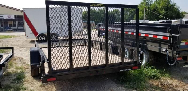 ON ORDER 2020 Sure-Trac 7x12 Tube Top Utility w/Gate 3k