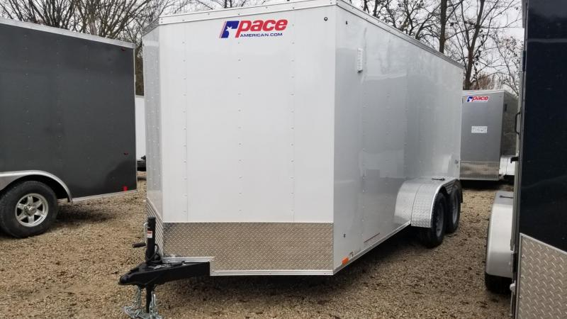 2020 Pace 7x16 Outback Deluxe Enclosed Cargo Trailer 7k