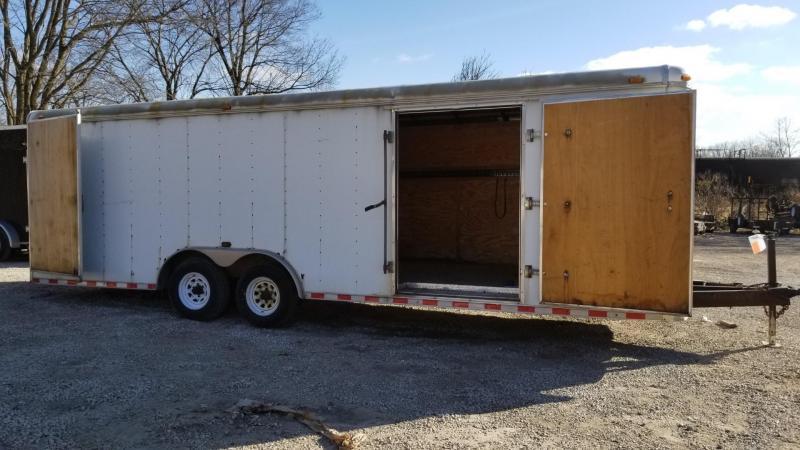 2003 Tennessee Trailers Inc. 8.5x24 Enclosed Cargo Trailer w/Barn Doors 10k