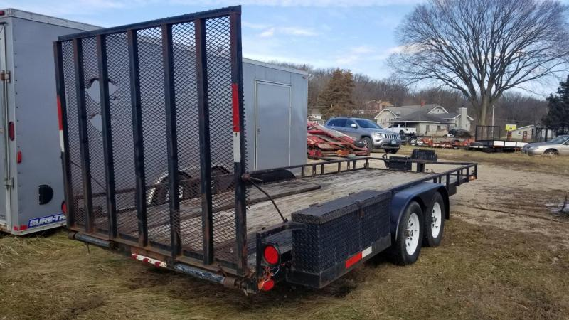 1995 Homemade 6.5x20 Utility Trailer w/Ramp 7k