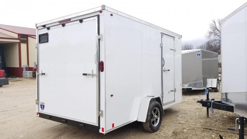 2020 Interstate 7x12 SFC Enclosed Cargo Trailer 3K