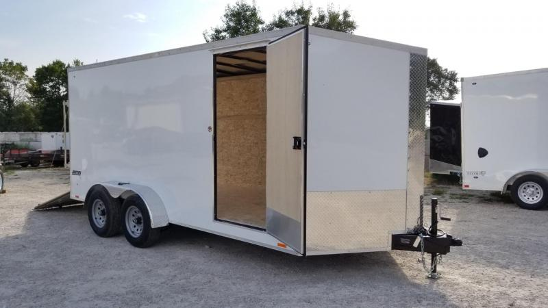 2020 Pace 7x16 Journey SE Enclosed Cargo Trailer 10k