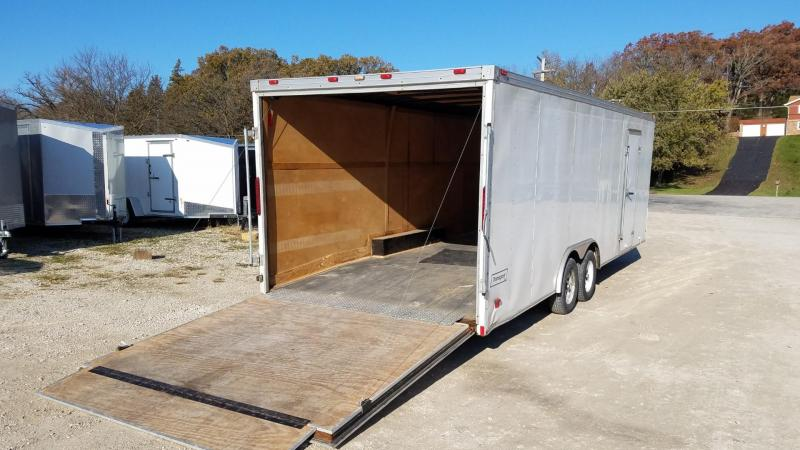 2006 Haulmark 8.5x24 Transport Deluxe Enclosed Car Hauler 7k