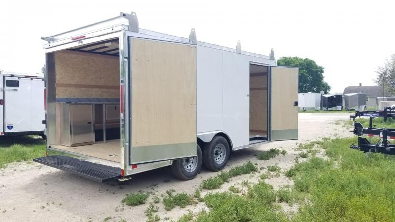 2021 Look Trailers 8.5x16 Enclosed Landscape Trailer 10k