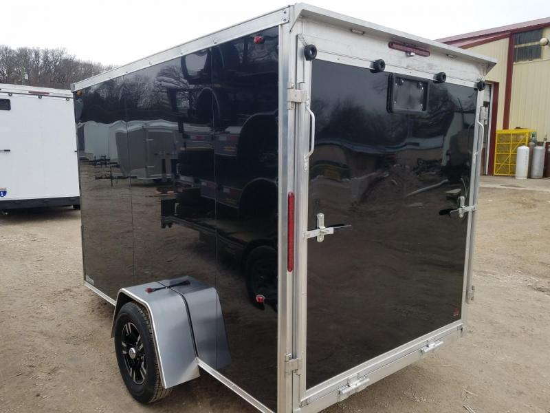 2020 Interstate One 6x10 Aluminum Enclosed Cargo Trailer 3k
