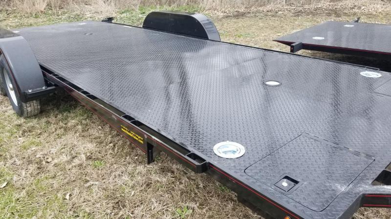 """2020 Kwik Load 7x18 Steel """"Rollback"""" Car Hauler 7k"""