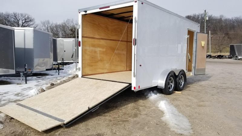 2020 Interstate 7x16 STW Enclosed Cargo Trailer 7k
