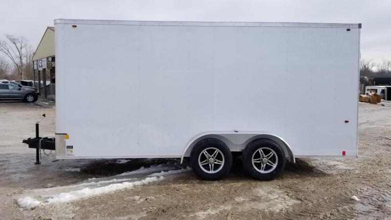 2020 Interstate 7x16 STW Enclosed Cargo Trailer 7k