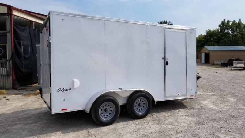 *ON ORDER* 2020 Pace 7x14 Outback Deluxe Enclosed Cargo Trailer 7k