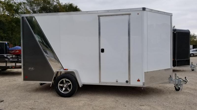 2020 R and R 7x12 Force Elite All Aluminum Enclosed Cargo Trailer 3k