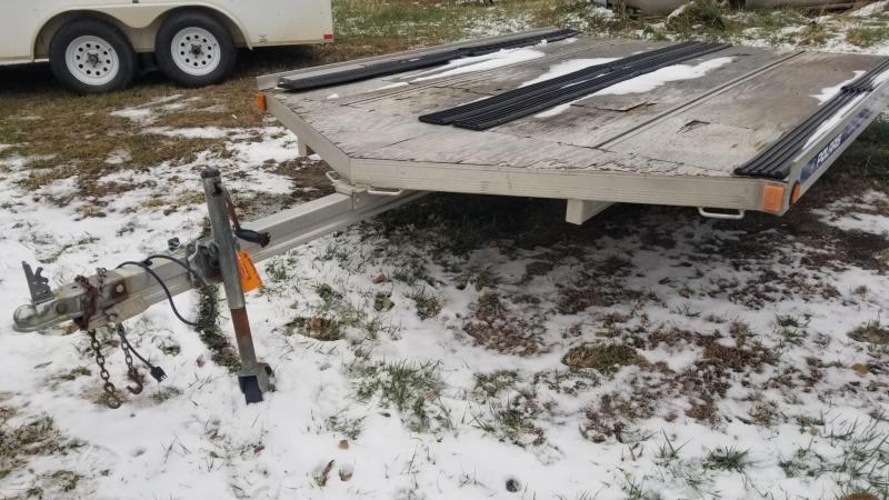 2006 Floe 8.5x10 Open Drive On/Off Snowmobile Trailer 2k