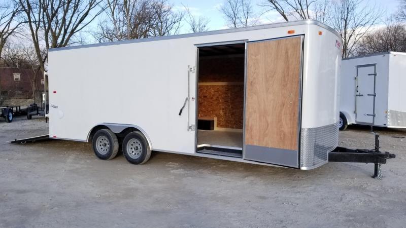 2021 Pace American 8.5x20 Enclosed Car Hauler 7k