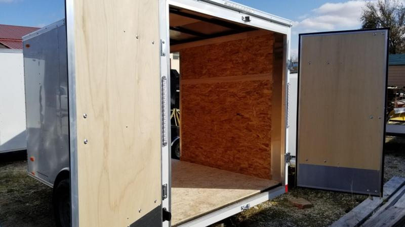 2021 Pace 6x10 Outback Enclosed Cargo Trailer w/Barn Doors 3k