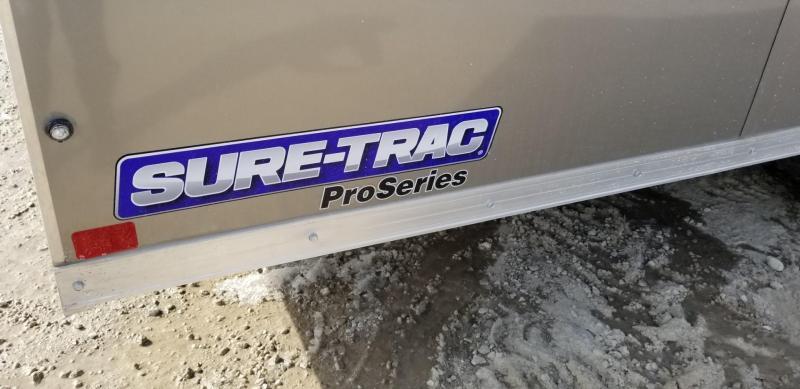 2019 Sure-Trac 8.5x20 Enclosed Landscape Pro Series w/Shelves for Landscaping 10k