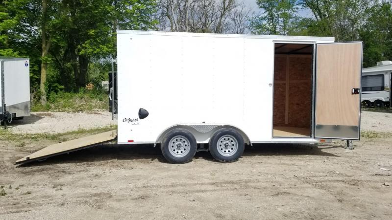 2021 Pace 7x14 Outback Deluxe Cargo Trailer 7k