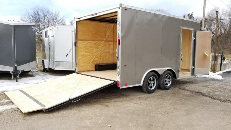 2020 Interstate 8.5x14 STW Enclosed Cargo Trailer 7k