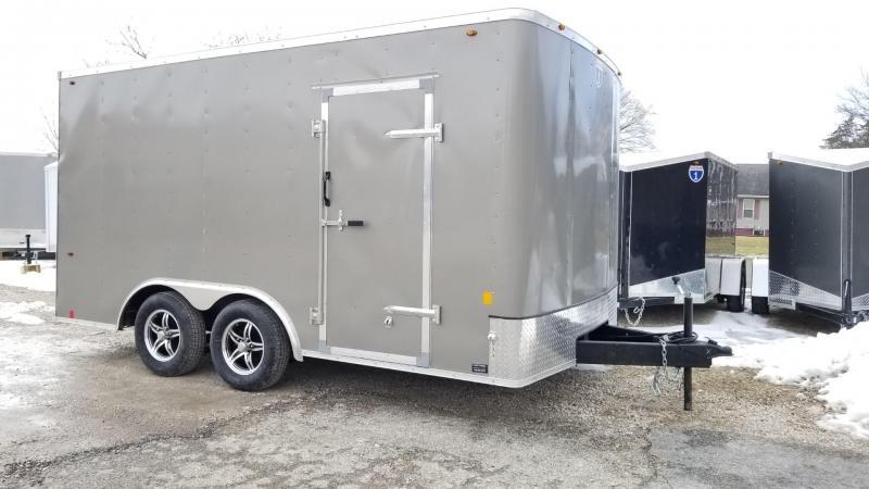 2020 Interstate 8.5x14 STW Enclosed Cargo Trailer 7k