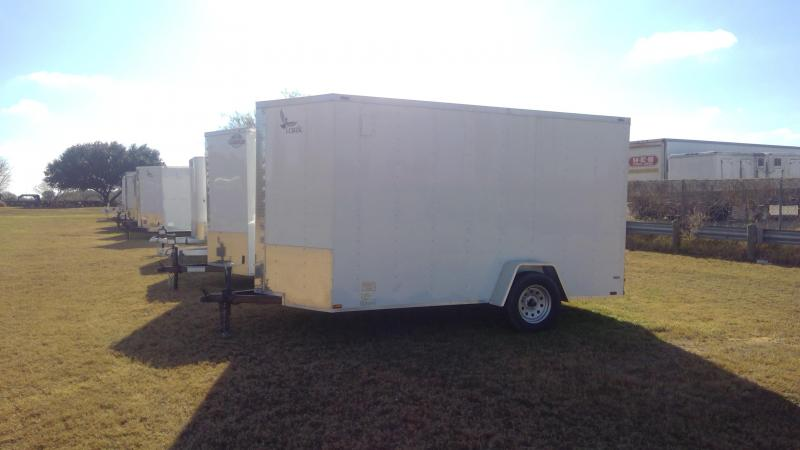 2020 Lark 6X12 Single Axle Enclosed Cargo Trailer