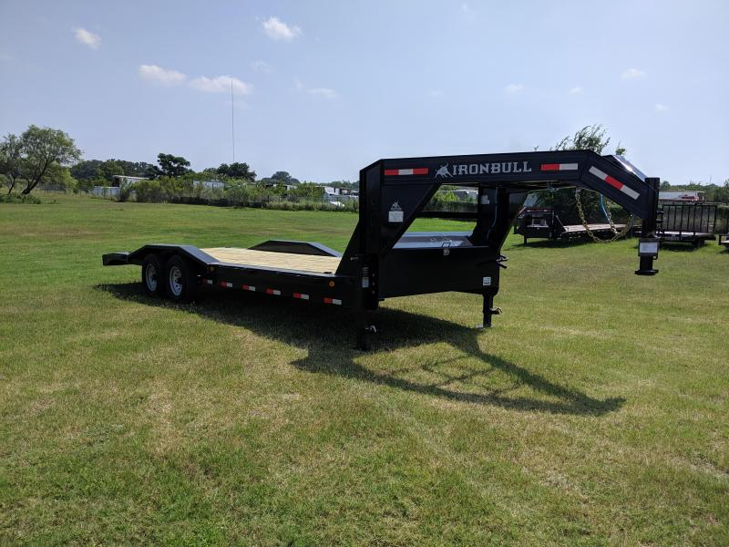 2019 Norstar 102X24 Tandem Gooseneck Equipment Trailer