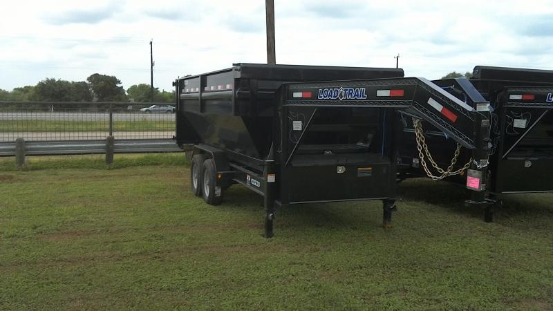2019 Load Trail 83X14 Gooseneck Drop-N-Go Dump Trailer