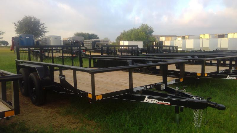 2019 BCI Trailers 83X14 Tandem axle Utility Trailer