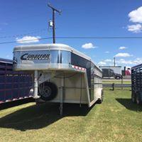 2013 Cimarron Trailers Showstar Livestock Trailer