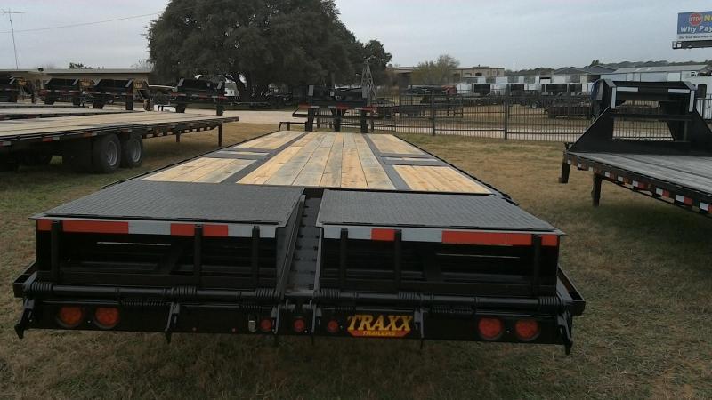 2019 Traxx 102X355 TA Dual Gooseneck Equipment Trailer